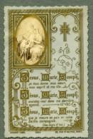 France Religion Image Pieuse Canivet Photo Albumine Sur Celluloid Bouasse 1880