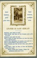 France Religion Image Pieuse Canivet Saint Ghislain Photo Albumine Sur Papier Saudinos 1880 - Images Religieuses