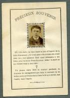 France Lille Religion Image Pieuse Canivet Post Mortem Paul Lambret Old Photo Liegois 1899