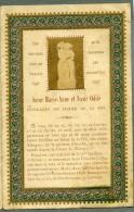 France Religion Image Pieuse Canivet Marie Anne & Odile Photo Albumine Sur Papier Saudinos 1880 - Devotion Images