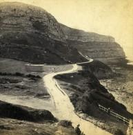 Royaume Uni Pays De Galles Llandudno Great Orme Head Ancienne Photo Stereoscope Bedford 1865 - Stereoscopic