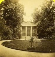 Allemagne Berlin Mausolée Au Château De Charlottenburg Ancienne Photo Stereoscope Plaut 1860 - Stereoscopic