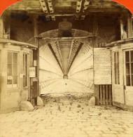 USA Canada Chutes Du Niagara Pont En Suspension Ancienne Photo Stereoscope Curtis 1880 - Stereoscopic