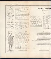 Ijzeren Tijdperk Large Plate 39 X 24 Cm Around 1880 (247) - Prints & Engravings