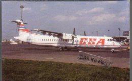 ATR72-300 Aviation CSA Airlines ATR 72 Aereo čSA Avion ATR.72 Aircraft - 1946-....: Era Moderna