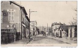 92 ROBINSON LA RUE HOUDAN PRES GARE TRES ANIMEES CPA BON ETAT - France