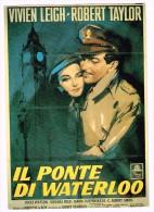 B3764 Riproduzione Della Locandina Il Ponte Di Waterloo - Film Con Vivien Leigh E Robert Taylor - Silvano Campegg - Posters On Cards