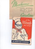 Fasicule De  Recettes A L'auto-cuisseur Caroline Par Le Pére Marcalu - Food