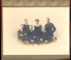 Grande Photo De Famille - Photo Antoine - Antwerpen. - Personnes Anonymes