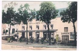 Rochefort, Hôtel Du Centre: Vanvemoortel-Donies, Edit. L. Duparque, Circulée En 1907 - 2 Scans - Rochefort
