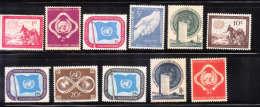 UN 1951 Unity Peace MNH/Mint - New York -  VN Hauptquartier