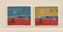 LIECHTENSTEIN  ( D16- 8617 ) 1960    N° YVERT ET TELLIER  N° 353/354    N** - Liechtenstein