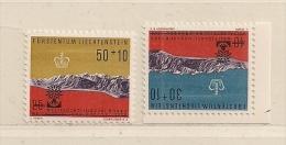 LIECHTENSTEIN  ( D16- 8620 ) 1960    N° YVERT ET TELLIER  N° 353/354    N** - Liechtenstein