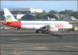 Airbus A320-323 Aircraft NDTV AIR DECCAN Airlines  A 320 Avion Air Aviation A320 Airplane A-320 Luft - 1946-....: Moderne