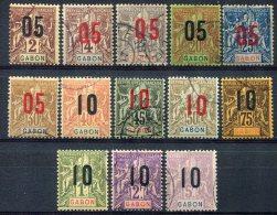 Gabon                           66/78   Oblitérés - Gabon (1886-1936)