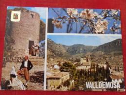 ESPAGNE Valledemosa (ile De Majorque Ou Mallorca) Carte Timbrée - Costumi