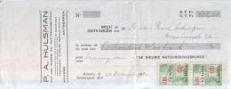 Fiscale Zegels - 0,10 Francs - Cancelled 22-12-1930 - Revenue Stamps