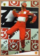 Michael Schumacher Formule I Voiture Ferrari Sport Automobile - Sport Automobile