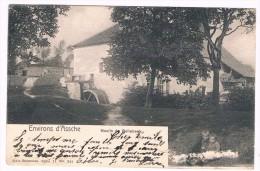Environs D'Assche, Moulin De Bollebeek, Circulée En 1907, Nels Série 11 N° 344 -  2 Scans - Asse