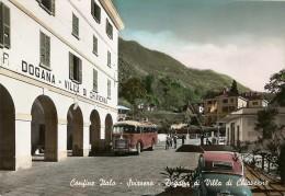 Y-CONFINE ITALI-SVIZZERO-DOGANA DI VILLA DI CHIAVENNA(CORRIERA-FIAT TOPOLINO CABRIO) - Dogana