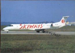Embraer Emb145EP Airlines SKYWAYS EXPRESS Aereo Air FLY Avion ERJ 145 Aircraft Aviation ERJ145 Brasile - 1946-....: Era Moderna