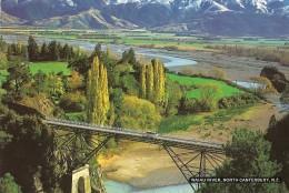 Y-WAIAU RIVER-NORTH CANTERBUTY-NEW ZEALAND(BRIGDE) - Nuova Zelanda