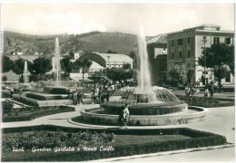 XXX CARTOLINA BIANCO E NERO - LAZIO – TIVOLI – GIARDINO GARIBALDI E MONTE CATILLO VIAGGIATA 1964 VERSO ROMA – INDIRIZZO - Tivoli