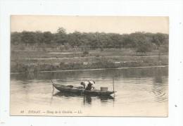 Cp , 93 , EPINAY , étang De La GLACIERE , Voyagée 1908 - Autres Communes
