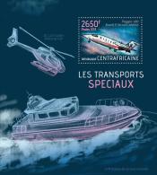 CENTRAL AFRICA 2013 - Special Transport; Transports Speciaux - YT BF583; CV = 15 € - Vliegtuigen