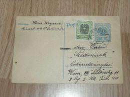 Ortmann Wien 1921 Postkarte - 1918-1945 1ra República