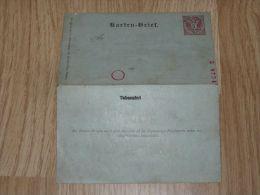 Karten Brief Postkarte 5kr - Nuevos