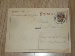 Oberschützen  Inzersdorf Bei Wien 1928 Austria Postkarte - 1918-1945 1ra República