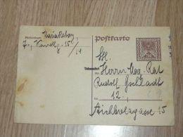 Postkarte Austria 1925 - 1918-1945 1ra República