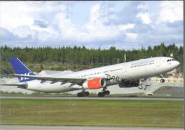 Airbus A330-300 Airlines SAS Scandinavian Airlines Air Airways Aereo A330 Avion Aircraft A.330  Aviation A 330 Aerei - 1946-....: Moderne