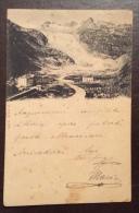 SUISSE - GHIACCIAIO - GLACIER DU RHONE  - VIAGGIATA A GENOVA  NEL 1899 - Other
