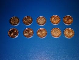 10 Monete Da 2 EURO Lituania Lithuania Coins 2015 - Lituania