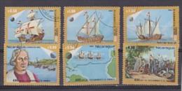 Nicaragua 1982 Discovery Of America/Ships 6v Used (22203) - Nicaragua