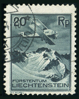LIECHTENSTEIN 1930 - Air Stamp Mich.Nr.109 Used
