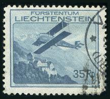 LIECHTENSTEIN 1930 - Air Stamp Mich.Nr.111 Used