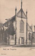 CPA - AK Abdij Van Tongerloo Kerk Abtei Kloster Eingang Bei Westerlo Turnhout Antwerpen Anvers Geel Belgien Belgique - Westerlo