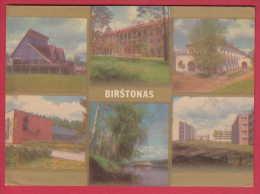 173757 / BIRSTONAS - OLYMPIC ROWING , CANOEING BASE , SANATORIUM , MINERAL WATER BOTTLING PLANT  Lithuania Lituanie - Lituanie