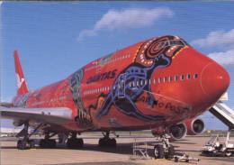 Boeing B.747-438 Avion Aviation Quantas Airways B 747 Aiplane Planes Flugzeuge B-747 - 1946-....: Moderne