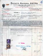 SOCIETA´ ANONIMA ASTRA-LA FABBRICAZIONE DEI CONTATORI D´ACQUA-STABILIMENTO DI GAVIRATE-MILANO-22-5-1935 - Paesi Bassi