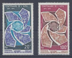"AFARS & ISSAS - 1974 -  "" CENTENAIRE DE L'U.P.U ""  POSTES N° 388 & 389 - XX - MNH - TTB - - Unused Stamps"