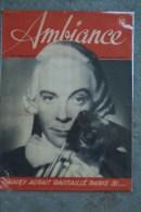 REVUE AMBIANCE- 2 MAI 1945- GRAVEY PARIS- INSTITUT PASTEUR- WASHINGTON - GUERRE 1939-1945 - Books, Magazines, Comics