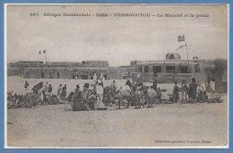 AFRIQUE --  SOUDAN -- TOMBOUCTOU -- Le Marché Et La Poste - Soudan
