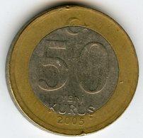 Turquie Turkey 50 Kurus 2005 KM 1168 - Turquie