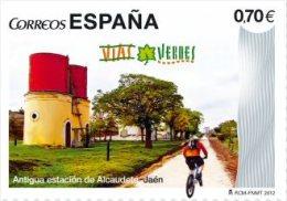 España 2012 Edifil 4744 Sello ** Vias Verdes Del Aceite, Antigua Estación De Alcaudete Jaen Spain Stamps Timbre Espagne - 1931-Hoy: 2ª República - ... Juan Carlos I