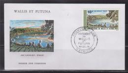 = Wallis Et Futuna Paysages Lac Lalolalo Enveloppe 1er Jour Mata Utu 1.12.75 N°PA 67 - FDC