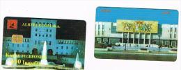 ALBANIA - TELEKOMI SHQIPTAR  CHIP -  BUILDINGS    07.99  -  USATA  -  RIF. 8155 - Albanie